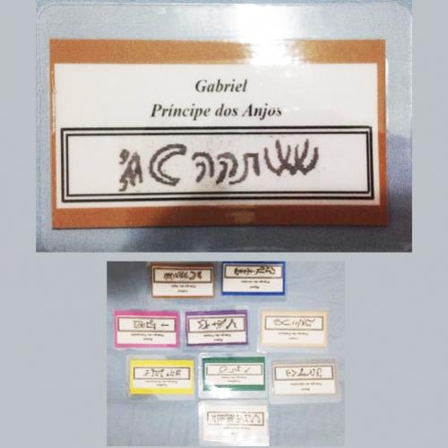 Cartão de Proteção - Assinatura dos Arcanjos Guardiões