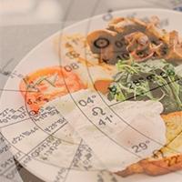 A comida está no mapa