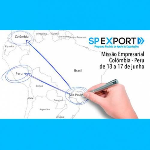 Investe SP vai selecionar 40 empresas e 15 startups para missão comercial a Colômbia e Peru