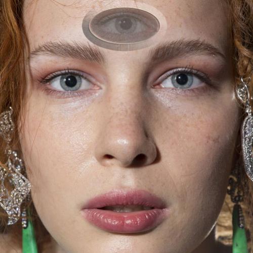 Pessoas com o terceiro olho aberto