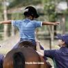 Terapia com cavalos para desenvolvimento de crianças com o TEA