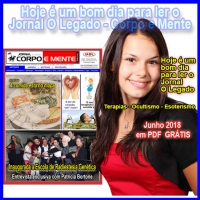 Leia a edição de Junho de 2018 do Jornal O Legado