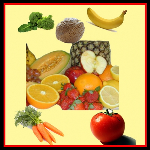 Significado das cores dos alimentos e suas utilidades