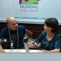 Juliana Bueno retorna à Rádio Mundial