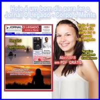 Leia a edição de Abril de 2018 do Jornal O Legado
